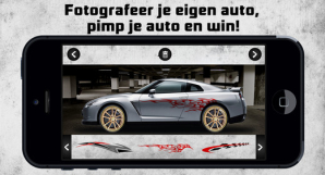 Pimp Your Car-app: Pimp je auto en win!
